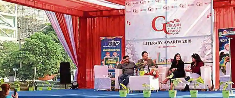 invincible publishers gurgaon literature festival