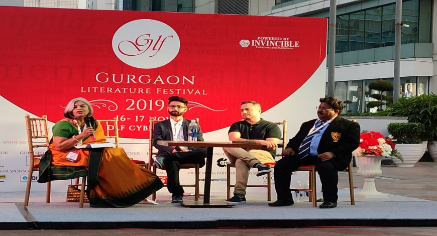 Gurgaon Lit Fest panel discussion Second Edition