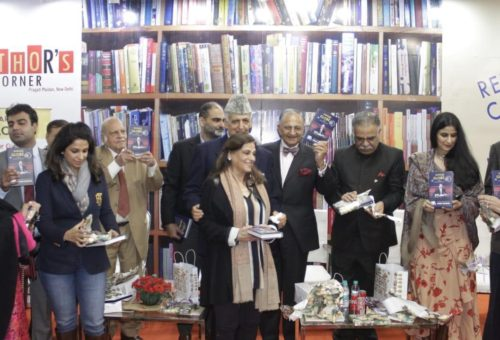 Mr. R. N. Khanna Launched His Autobiography 'Garage to the Globe' at New Delhi World Book Fair, 2020.