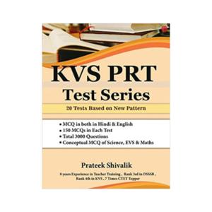 KVS PRT Test Series